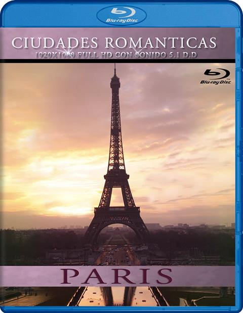 Carátula Ciudades románticas: París