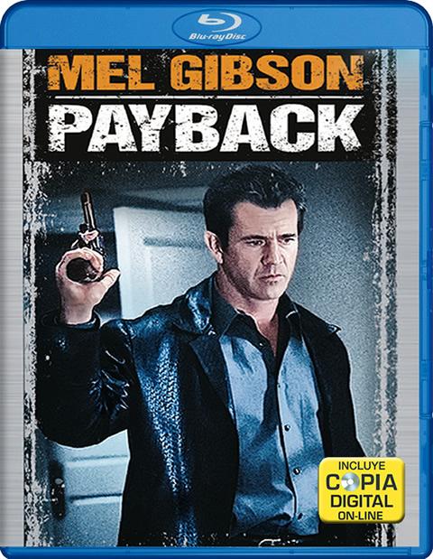 Carátula Payback Blu-ray