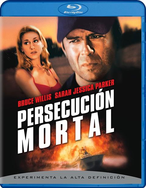Carátula Persecución mortal Blu-ray