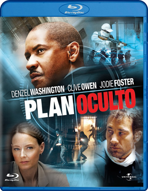 Carátula Plan oculto Blu-ray