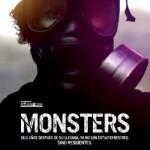 Poster oficial español de Monsters