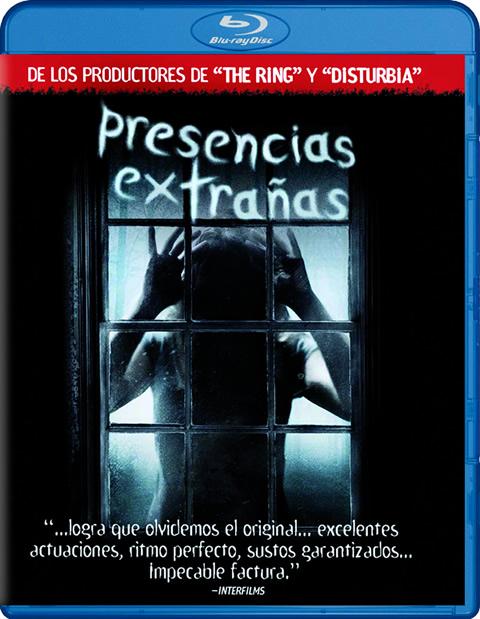 Carátula Presencias extrañas Blu-ray