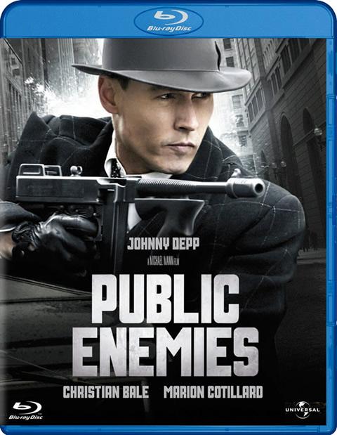 Carátula Enemigos públicos Blu-ray
