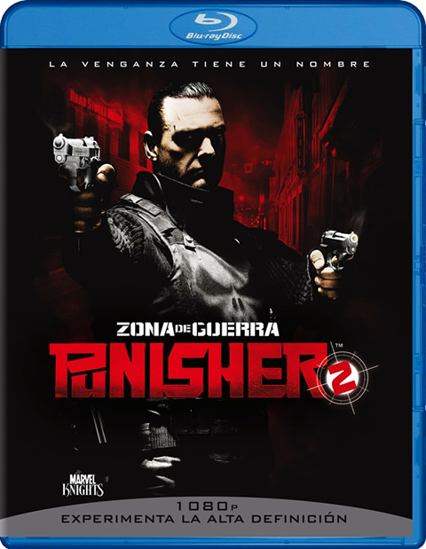 Carátula Punisher 2 Blu-ray