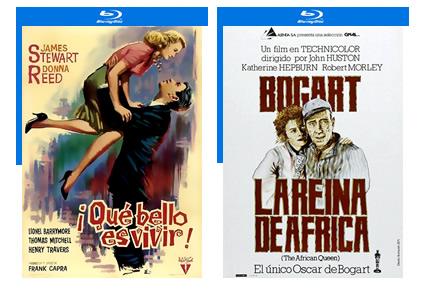Clásicos en Blu-ray