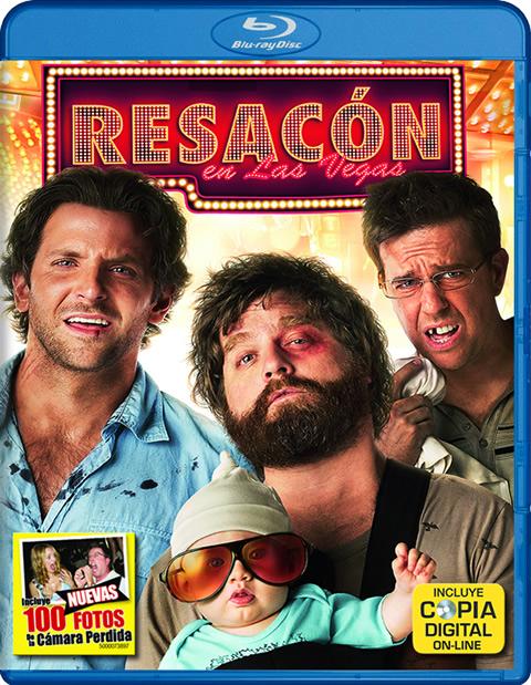 Carátula Resacón en Las Vegas Blu-ray