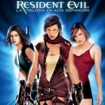 Carátula Trilogía Resident Evil Blu-ray
