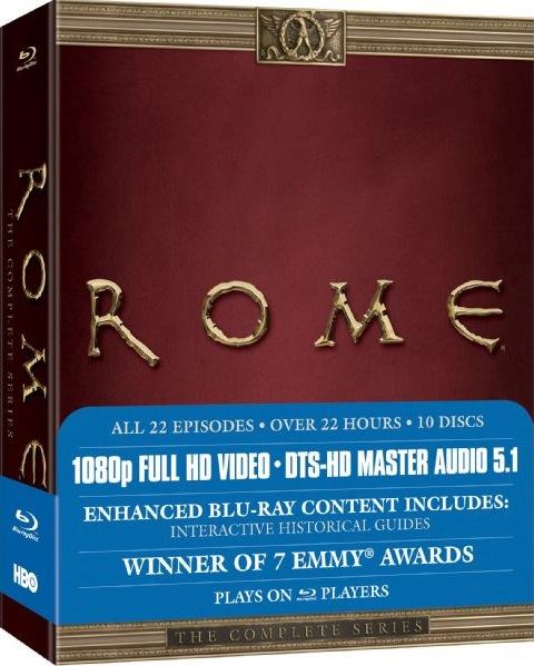 Carátula Roma Blu-ray