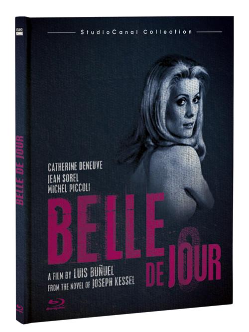 Carátula Bella de día Blu-ray