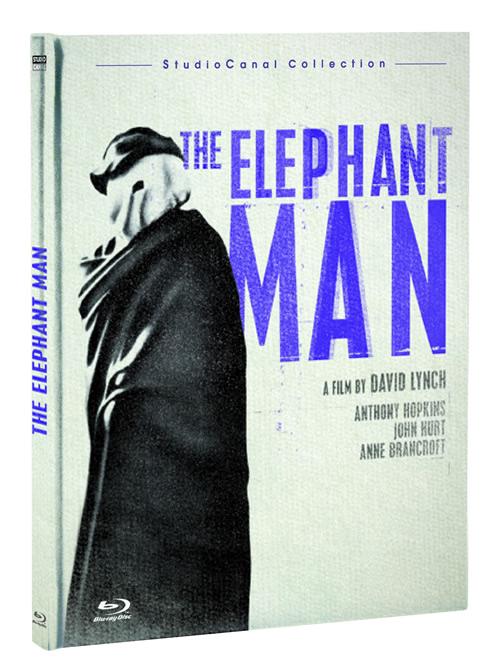 Carátula El hombre elefante Blu-ray