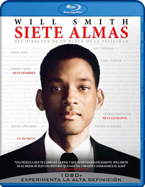 Carátula Siete almas Blu-ray