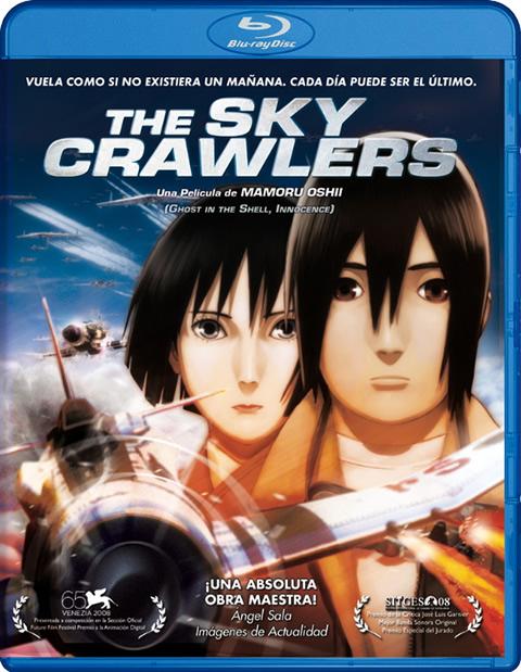Carátula The Sky Crawlers Blu-Ray