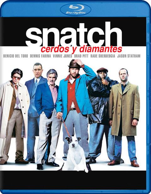 Carátula Snatch Blu-ray