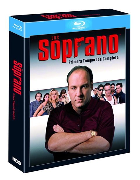 Carátula Los Soprano temporada 1 Blu-ray