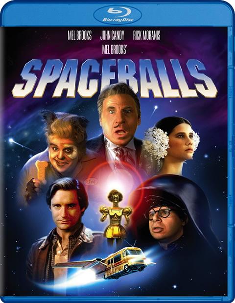 Carátula La loca historia de las Galaxias Blu-ray
