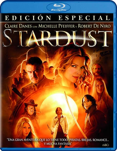 Carátula Stardust Blu-ray