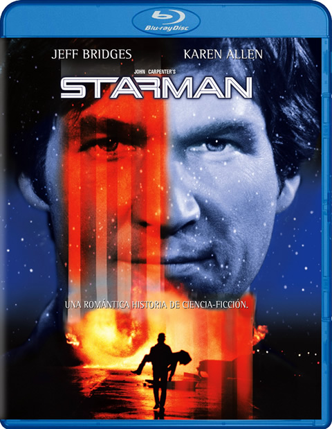 Carátula Starman Blu-ray