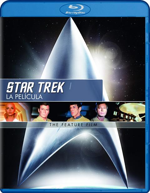 Carátula Star Trek 1 Blu-ray