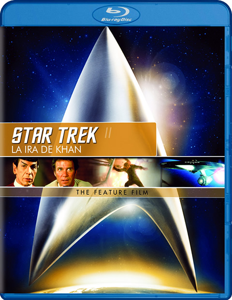Carátula Star Trek 2: La ira de Khan Blu-ray