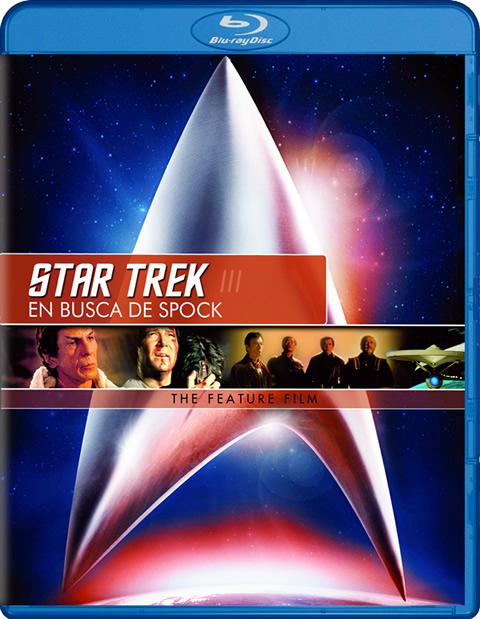 Carátula Star Trek 3: En busca de Spock Blu-ray