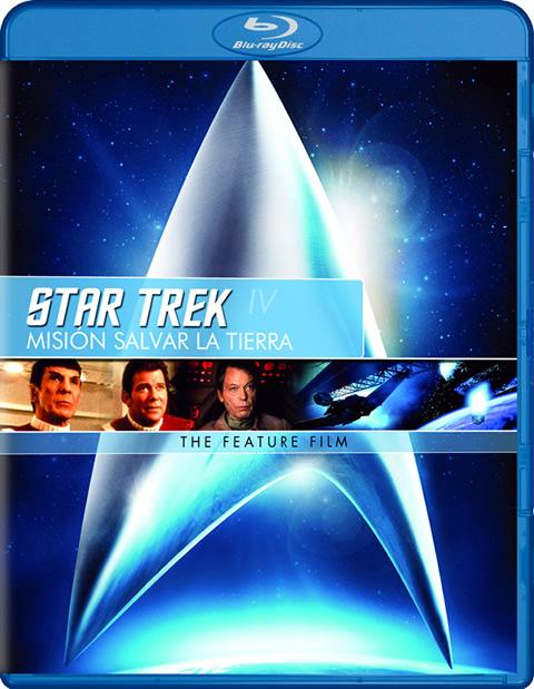 Carátula Star Trek 4: Misión: Salvar la Tierra Blu-Ray