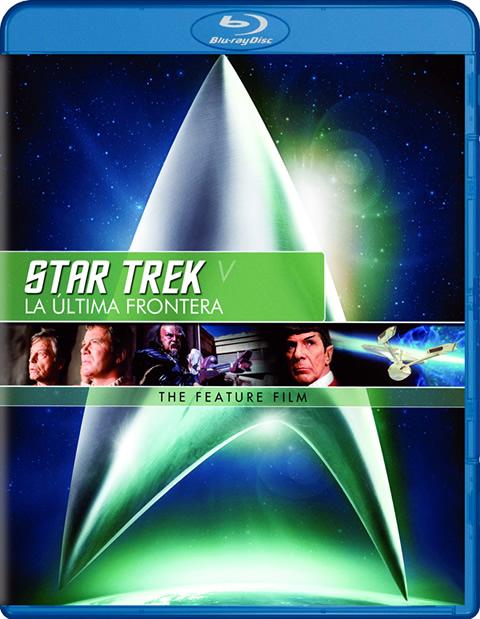 Carátula Star Trek 5: La última frontera Blu-ray