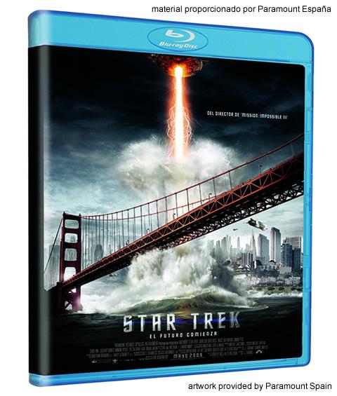 Carátula Star Trek 2009 Blu-ray