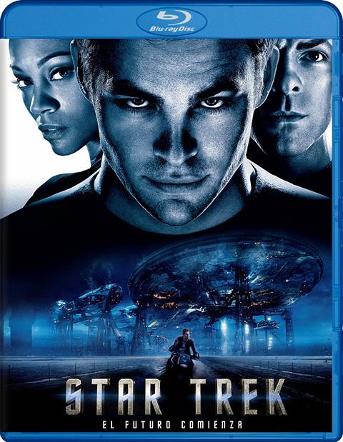 Carátula Star Trek Blu-ray