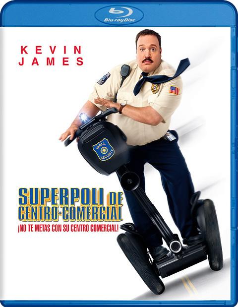 Carátula Superpoli de centro comercial Blu-ray