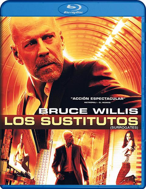 Carátula Los sustitutos Blu-ray
