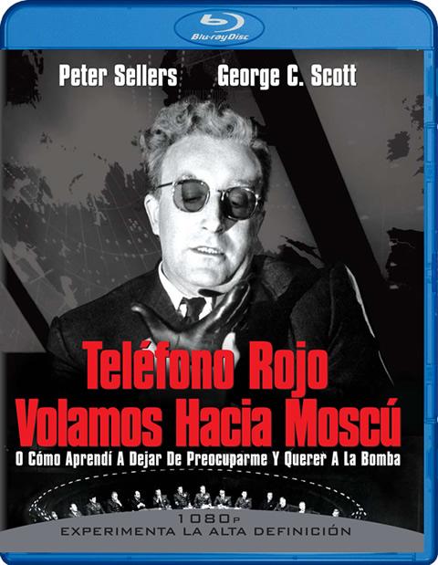 Carátula Teléfono rojo Volamos hacia Moscú Blu-ray