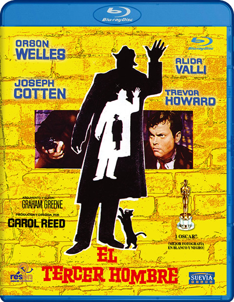 Carátula El tercer hombre Blu-ray