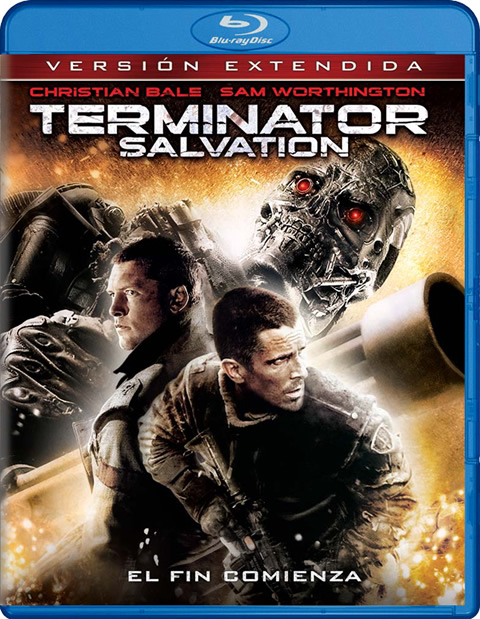Carátula Terminator Salvation Blu-ray