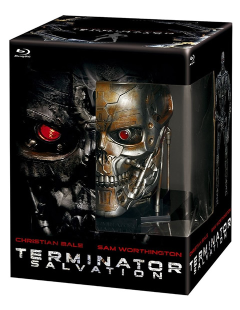 Terminator Salvation T-600 Blu-ray