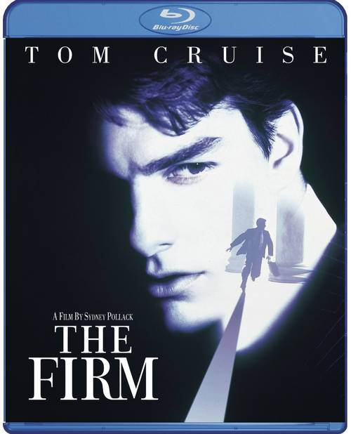 Carátula Blu-ray oficial en USA de The Firm