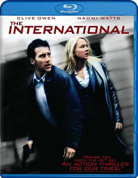 Carátula The International Blu-ray
