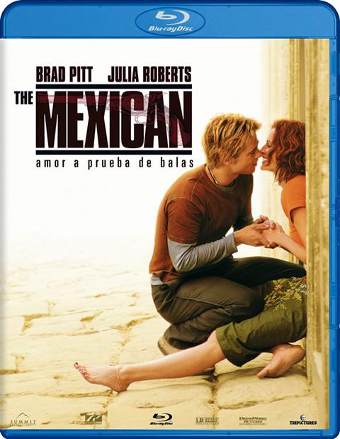 Carátula The Mexican Blu-ray