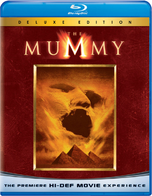 The Mummy carátula Blu-Ray