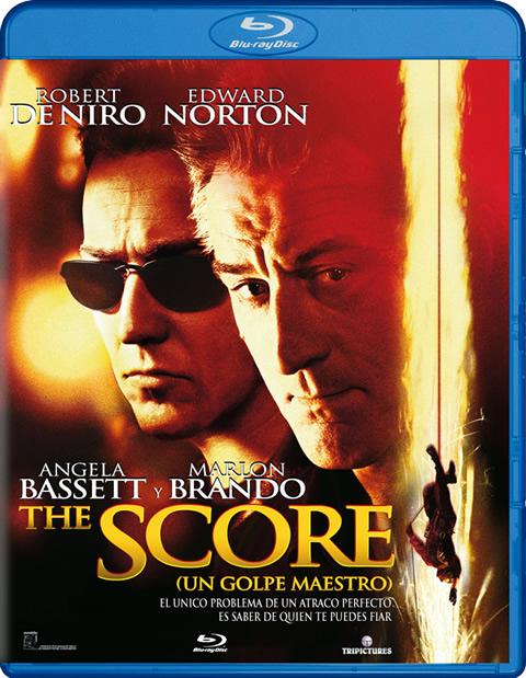 Carátula The Score Blu-ray