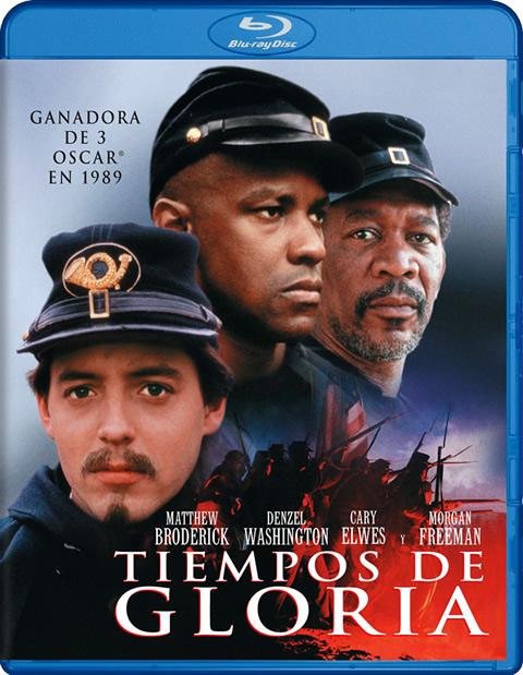 Carátula Tiempos de gloria Blu-ray