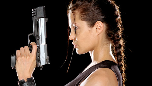 Carátula Tomb Raider Blu-ray