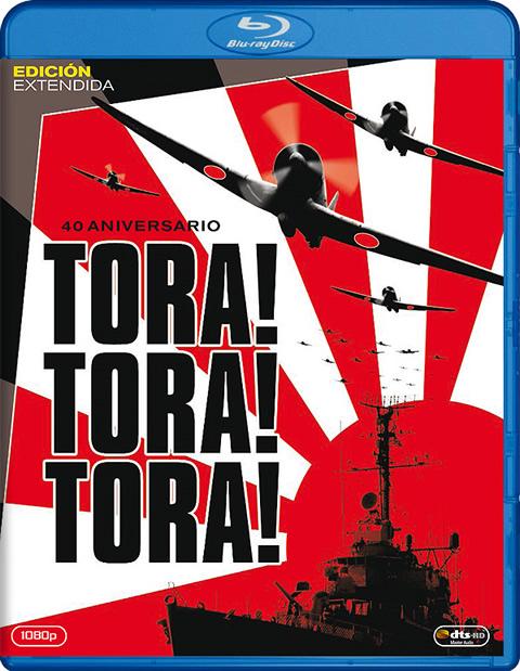Carátula Tora! Tora! Tora! Blu-ray