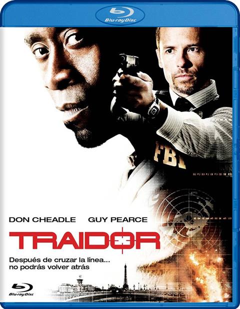 Carátula Traidor Blu-ray alquiler