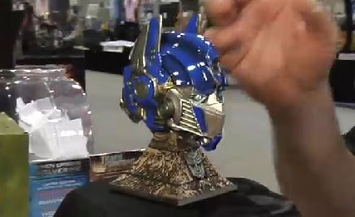 Busto de Optimus Prime