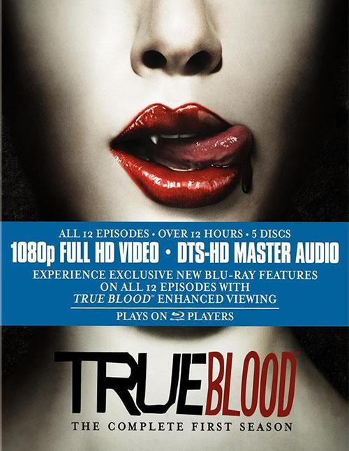 True Blood carátula Blu-ray