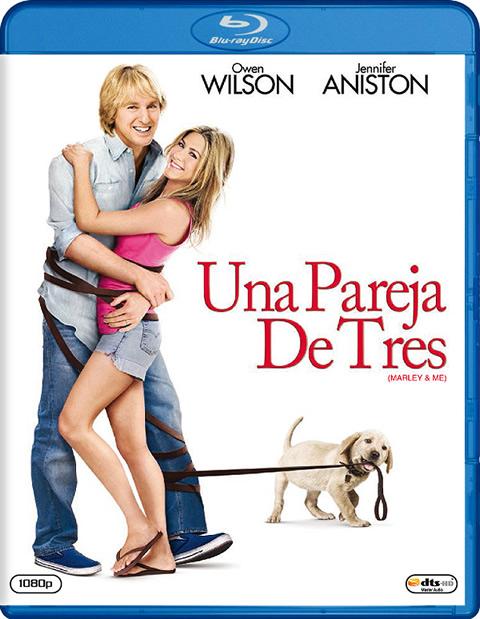 Carátula Una pareja de tres Blu-ray