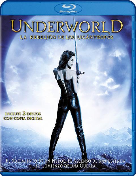 Carátula Underworld: La rebelión de los licántropos Edición Especial Blu-ray