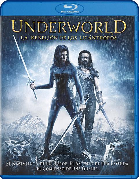 Carátula Underworld: La rebelión de los licántropos Blu-ray
