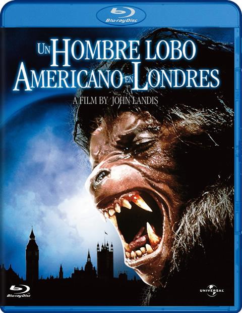 Carátula Un hombre lobo americano en Londres Blu-Ray
