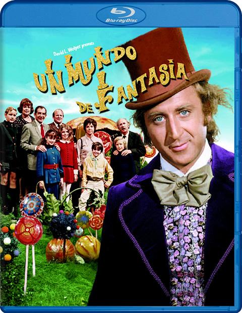 Carátula Un mundo de fantasía Blu-ray
